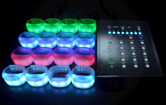 RFID enabled LED Wristbands